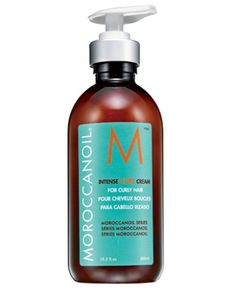Moroccan oil intense curl cream, great for curly hair