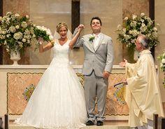 Lauren & Brett - Lake Erie Shore Wedding | LMAC Photography | As seen on…