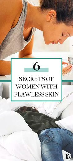 Get all the secrets of women with flawless skin here. #healthyskin #skincare #skincareroutine
