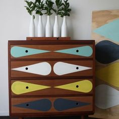 howne blog idee astuces deco diy vieux meubles relooker facile peinture masking tape 4
