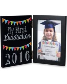 Malden Then and Now Preschool Graduation 2016 2 Up 4x6 Frame from Belk | BHG.com Shop                                                                                                                                                                                 Más