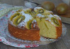 Torta con ricotta e kiwi sofficissima e senza burro, sofficissima e senza burro leggera e golosa e ricca di frutta,