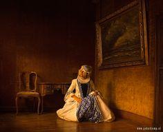 Kostuum van de Delft Dame van Something Extra, hier gefotografeerd door Peter Kemp in Huis Oud Holland (Museum Lambert van  Meerten) in Delft. Toegang/Fotoshoot: neem contact op met info@somethingextra.nl