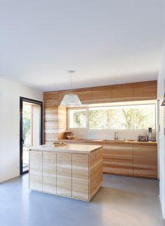 MAISON 2G projet d'architecture bois à claire voie Orsay 91400