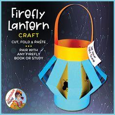 Quick Crafts, Easy Crafts For Kids, Toddler Crafts, Preschool Crafts, Art For Kids, Fireflies Craft, Fireflies In A Jar, Lightning Bug Crafts, Firefly Art