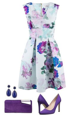 """""""Blue and purple"""" by soleuza ❤ liked on Polyvore"""
