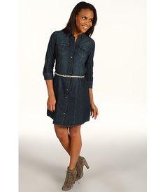 Calvin Klein Jeans Denim Shirt Dress - cute and modern for #paris portraits or a park