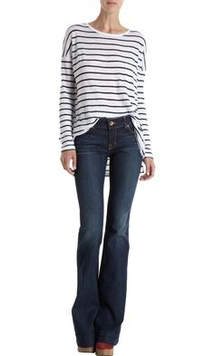 j brand love story flares. Best jeans ever.