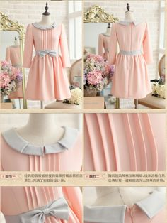 pale and pink temptations dress $59  #asianicandy #chicstyle #indiefashion #japanesefashion