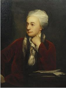 William Cowper (26 november 1731 – 25 april 1800) - Portret door William Henry Jackson, 1873