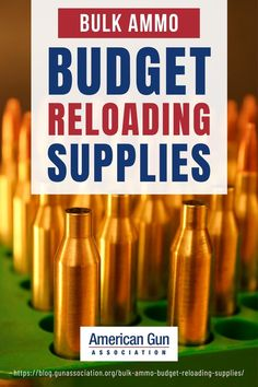 Learn about budget-friendly reloading supplies for the best option when it comes to just stocking a few extra rounds or acquiring bulk ammo. #bulkammo #ammunition #reloading #reloadingsupplies #gunassociation How To Make Diy Projects, Reloading Supplies, Ammo Storage, Guns And Ammo, Survival Tips, Weapons, Budgeting, Things To Come, Tools