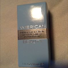American Beauty foundation Light/cool color foundation. Brand new, never used any of it, it's too light for my skin. American Beauty Makeup Foundation