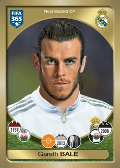 Websites out of Websites out of thousand. Football Stickers, Football Cards, Football Soccer, Football Players, Fifa 365, Real Madrid Gareth Bale, Bale 11, Real Madrid Players, Uefa Champions League
