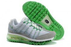 100% originales Nike Air Max 95 2013 Femme Flywire Dynamique Gris Vert Chaussures Course Blanc Paris vente en ligne