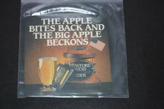 1987 Beermat Stowford Press Cider Cat 023 (2N47) 11/14)