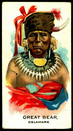 Cigarette Card - Indian Chief, Great Bear