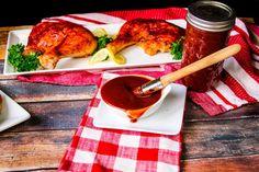 Mama's Barbecue Sauce #barbecue #sauce #Tomato #vinegar #BBQ #barbeque #justapinchrecipes