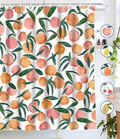 Cactus Pink Flamingo Collection Shower Curtain Bathroom Fabric /& 12hooks 72*72In