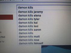 Damon kills himself