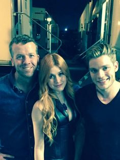 Clary and Jace // The Mortal Instruments // Shadowhunters // ABC Family