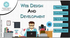 Develop your new services or modify your website to improve your presence on Internet with the best #Webdesign and #Webdevelopment services of SwipeCubes Softs