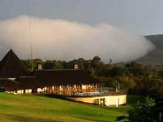 View from accross the lawn -Mount Sheba Country Hotel. Quote and book  http://www.south-african-hotels.com/hotels/mount-sheba-country-hotel-mpumalanga/