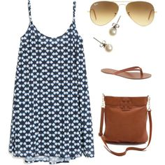 """Black, White & Brown"" by willard-lax-prep on Polyvore"