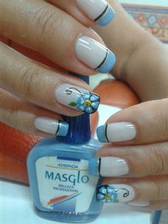 Fabulous Nails, Gorgeous Nails, Pretty Nails, French Nail Art, French Tip Nails, Fingernail Designs, Diy Nail Designs, Crazy Nails, Luxury Nails