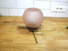 French 1950's table light by VintageRetroOddities on Etsy