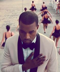 "Kanye West wearing Phillip Lim for ""Runaway"""