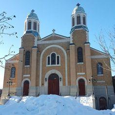 Saint George Antiochian Orthodox Church, in Montreal's Villeray area.  #montreal #mtlmoments #saintgeorgeantiochianorthodoxchurch #church #saintgeorge #stgeorge #20160104