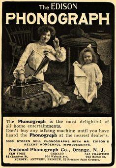 The Edison Phonograph, 1903