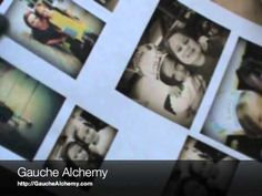 Learn how to create image transfers with packing tape! Video created for Gauche Alchemy by Wendy Morris