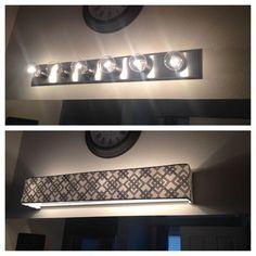 Custom Lampshades Fabric Light Covers Bathroom Vanity Lighting News Or