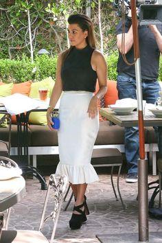 Rachel Bilson, Kourtney Kardashian, Le Style Kardashian, Collines Boisées,  Look Des Célébrités 621e98d07911