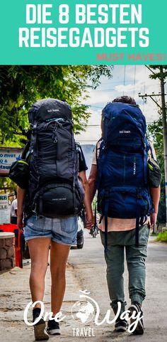 Diese 8 Reisegadgets sind absolute Must Haves und sollten unbedingt ins Gepäck für deine nächste Reise! Wir möchten nicht mehr ohne diese Gadgets reisen. Egal ob Weltreise, Backpacking-Trip oder Urlaub, wir verraten dir die 8 besten Reisegadgets!
