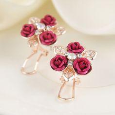 Gold Diamond Earrings For Women