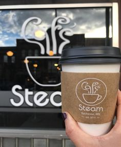 """ROCHESTER, MN. Grab a coffee from Steam and walk to the People's Food Co-op for breakfast!   - Michelle and Francisco (@foodfotografia) on Instagram: """"Happy first day of summer!! It's the longest day and we're soaking it all in. Sunrise  was on…"""" #coffee #cappuccino #morning #morningslikethese #collagen #Minnesota #firstdayofsummer"""