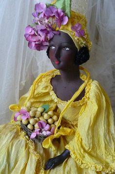 RARE ANTIQUE FRENCH BOUDOIR DOLL EXOTIC DOLL C 1920 | Dolls & Bears, Dolls, Antique (Pre-1930) | eBay!