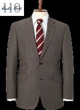 Suit, shirt and tie combination for the warm coloured man