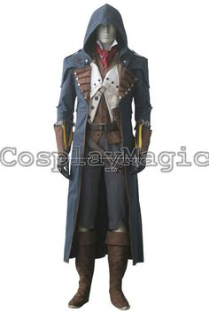 Assassin's Creed Unity Arno Victor Dorian Cosplay Costumes - CosplayMagic.Com