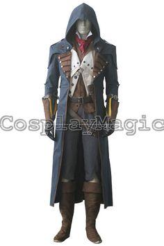 Assassin's Creed Unity Arno Victor Dorian Cosplay Costumes - CosplayMagic.Com