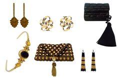 Art deco fashion accessories