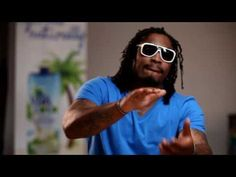 Marshawn Lynch Vita Coco Shoot Bloopers (plays with a Mr.T action figure, awesome)