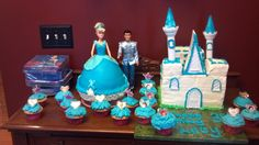 Cinderella Birthday cake.... September 2013