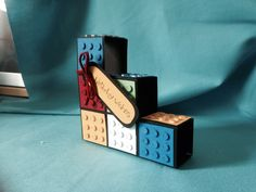 Block card .. Lego style 2 Lego, Cards, Style, Swag, Maps, Playing Cards, Legos, Outfits