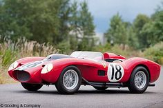 Platz 7: 1957er Ferrari 250 Testa Rossa. Versteigert am 21. August 2011. Höchstgebot: 16,39 Millionen US-Dollar. Heutiger Wert des Gebots: 17,2 Millionen. Anzahl gebauter Fahrzeuge dieser Art: 19.