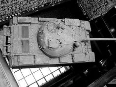 https://flic.kr/p/uAuSf1 | Hungary 2008 - House of Terror (Budapest) - Tank from above | Pictures by Björn Roose. Magyarország/Hungary, 2008.