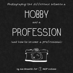 How to become a Professional Photographer.