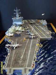 USS Enterprise CVN 65 1/350 By Louis Carabott  ~START~